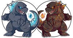 Godzilla Vs Gigan, Godzilla Franchise, Big Lizard, All Godzilla Monsters, Attack On Titan Art, Fan Art, Dragon Art, King Kong, Cute Illustration