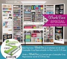 The Original Scrapbox Workbox Hobbybox Ultimate Sewingbox U2013 The Brand Box  Handel U0026 Vertrieb GmbH