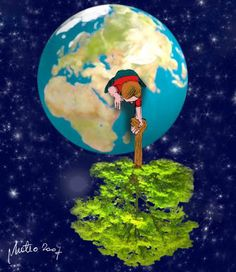 To get you thinking Save Mother Earth, Save Our Earth, Love The Earth, Save Environment, Save Nature, Arte Horror, We Are The World, Environmental Art, Global Warming