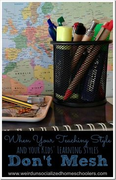 When Your Teaching Style and Your Kids' Learning Styles Don't Mesh