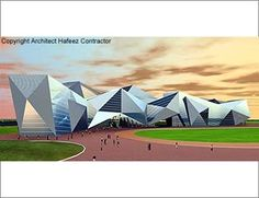 cRaZy cRaFtS: The Origami awe-Inspiring - Infosys SDB Park 4 Mysore Mysore, Origami, Golf Courses, Park, Architecture, Building, Crafts, Design, Buildings