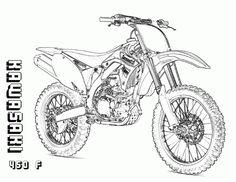 ktm dirt bike coloring pages blake pinte