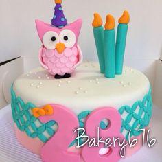 Owl cake Mujeres / niñas / woman / girls Pastel / cupcakes / cake Bakery 676