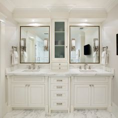 Genial White Master Bathroom Design Ideas, Pictures, Remodel, And Decor   Page 10
