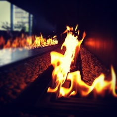 """@gdodd96's photo: """"Chilling in the hotel lobby #fire #dallas #omni"""""""