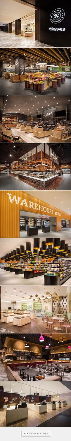 Home Park Food Store by TRIAD China, Harbin – China » Retail Design Blog - created via http://pinthemall.net