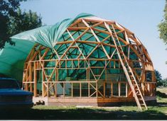 geodesic dome from foam panels - Google Search