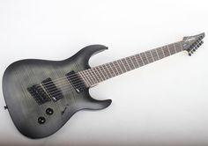 "734 Likes, 2 Comments - Legator Guitars (@legatorguitars) on Instagram: ""Ninja R Fanned-Fret 200-SE 7-String in Satin Black - Flamed Maple #LegatorGuitars…"""