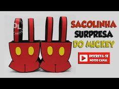 Saiba como fazer a mochila do Mickey e da Minnie - YouTube