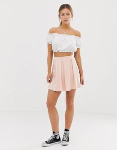 Discover the latest skirts with ASOS. Shop a variety of styles including denim and leather skirts, plus midi and maxi lengths. Order now with ASOS. Mini Skirt Style, Pleated Mini Skirt, Mini Skirts, Pencil Skirts, Asos, Jersey Skirt, Internet Explorer, Skirts For Sale, Skirt Fashion