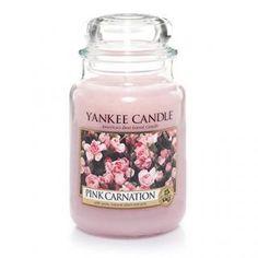 Pink Carnation : Large Jar Candle : Yankee Candle
