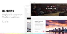 Harmony+-+Clean+Responsive+Wordpress+Blog+Theme