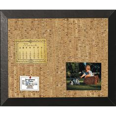 Mastervision Natural Cork Bulletin Board & Reviews | Wayfair