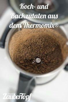 Der Thermomix® ist der beste Küchenassistent, den wir kennen. Hier bekommt ihr eine Übersicht über die Backzutaten und auch Kochzutaten, die er uns zaubert