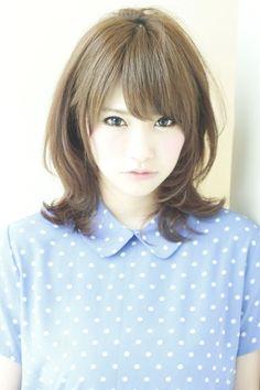 大人愛されハネミディアム | AFLOAT JAPANの拡大ヘアスタイル - アフロートジャパン 【銀座の美容室】 | 関東・銀座の美容室 | Rasysa(らしさ)