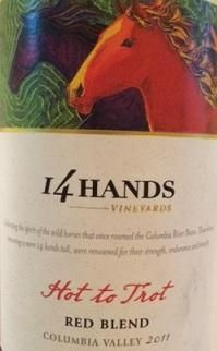 2011 14 Hands Hot to Trot Red, USA, Washington, Columbia Valley - CellarTracker