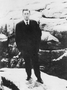 Author Howard Phillips Lovecraft, portrait by ?. (1922)