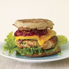 apple-cheddar turkey burgers
