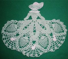 2015 easter BUNNY CROCHETED CRINOLINE LADY - green: Love It By Ttl ...