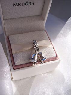 Authentic Pandora Wedding Bells Silver Sleigh by JEWELSELAGANT