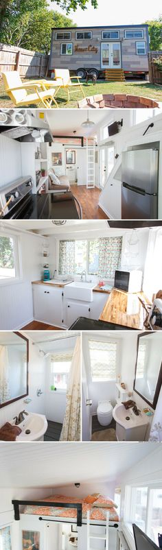 The Music City tiny house from Tennessee Tiny Homes