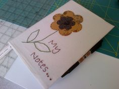 first Sew It's Friday 13th June making book covers
