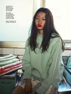 Bae Yoon Young by Yoo Young Gyu for Glamour Germany April 2015