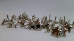 Mini star brads 5mm by ScrapaliciousDelight on Etsy, $4.30