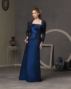 A-line Floor-length Taffeta Mother's Dresses 10987210