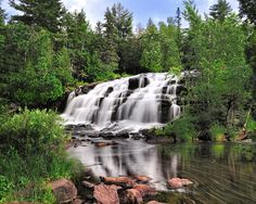 Bond Falls is known as the best waterfall in the Upper Peninsula, which is a pretty prestigious title considering the competition! Though, w...