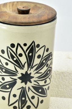 Foresty Container #handpainted #handicrafts #jar #utility #kitchenware #wowtrendy