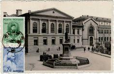 Actuala Universitate de Arte si Filarmonica de  Stat Moldova, Iasi, Romania Survival, Louvre, Mansions, House Styles, Building, Pictures, Travel, Art, Universe