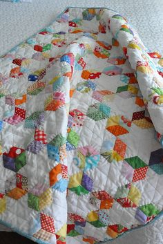 EPP Baby Quilt | by Pleasant Home