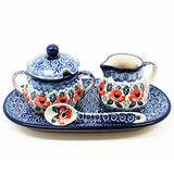 Creamer and Sugar #1490 | Polish mugs, plates, bakeware and more Polish pottery