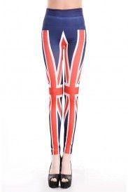 Leggings bandera Inglaterra. Nuestros leggings con estampado de bandera británica son la apuesta perfecta para lucir este toque pop-europe estilo Spice Grils que se hizo tan famoso en los 90. Vamos a bailar y disfrutar de un modelo que seguro se robará más de una mirada.