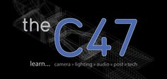 theC47 is an online and offline resource for production based training and information. More specifically, theC47 produces and provides educational content that focuses on the craft of both video production and filmmaking.