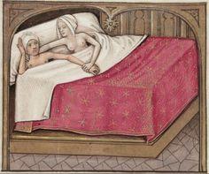 [folio 118r] MS. Douce 195 (Le roman de la rose) XV cnt. Robinet Testard http://romandelarose.org/#browse;Douce195