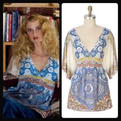 Cobalt Wind Surplice Cobalt Wind Surplice top by Ric Rac. A hard/rare find. Longer length. Has elastic in back that'll allow for some stretch. Will work for an XS-small. Anthropologie Tops Tunics