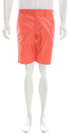 Marc by Marc Jacobs Woven Flat Front Shorts