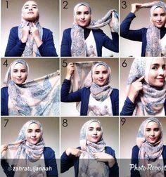 Beautiful Everyday Hijab Tutorial