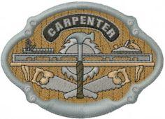 Machine Embroidery Designs Embroidery Design: Carpenter Design 2.69 inches H x 3.74 inches W