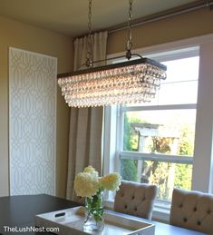 Hemera 4Light Crystal Chandelier  Crystals Chandeliers And Prepossessing Rectangular Dining Room Chandelier Inspiration Design