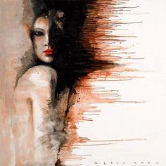 Pinturas abstractas de Viktor Sheleg