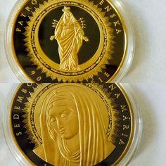 Sedembolestná Panna Mária- zušľachtená rýdzim zlatom a vzácnym ruténion Marvel, Personalized Items