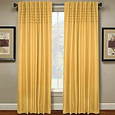 image of Hailey Pleated Window Curtain Panel