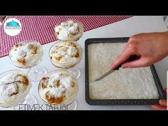 MÜTHİŞ ETİMEK TATLISI Tarifi👌Sütlü Serbetli Tatli Tarifleri|#Masmavi3mutfakta - YouTube Pudding, Dessert Recipes, Desserts, Waffles, Vanilla, Food, Youtube, Dessert Food, Postres