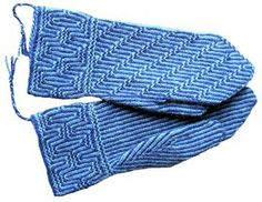 Knitted Gloves, Free Knitting, Knitting Ideas, Twine, Mittens, Gloves, Knitting, Sweater Mittens