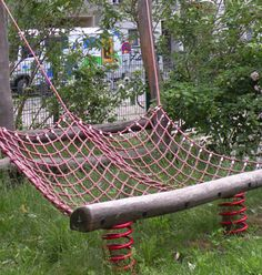 A unique play structure in Berlin, Germany.