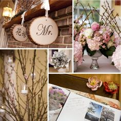 Japanese inspired wedding details