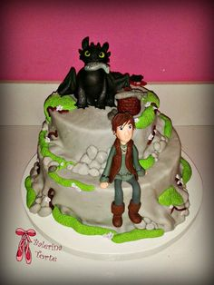 How to Train Your Dragon Cake - Kako da dresirate svog zmaja torta by Balerina Torte Jagodina | by Balerina Torte Jagodina